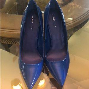 Blue heels ALDO